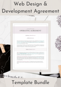 Web Design & Development Agreement
