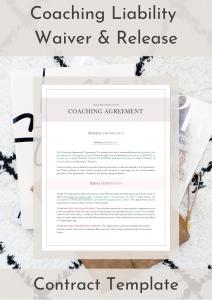 Coaching Liability Waiver